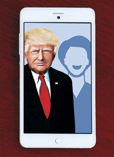 Holiday Trump Selfie Funny Holiday Card  Happy Holidays from me and Donald Trump | Selfie, funny, upload, add, photo, portrait, christmas, seasons Hope your Holidays are Picture-Perfect!